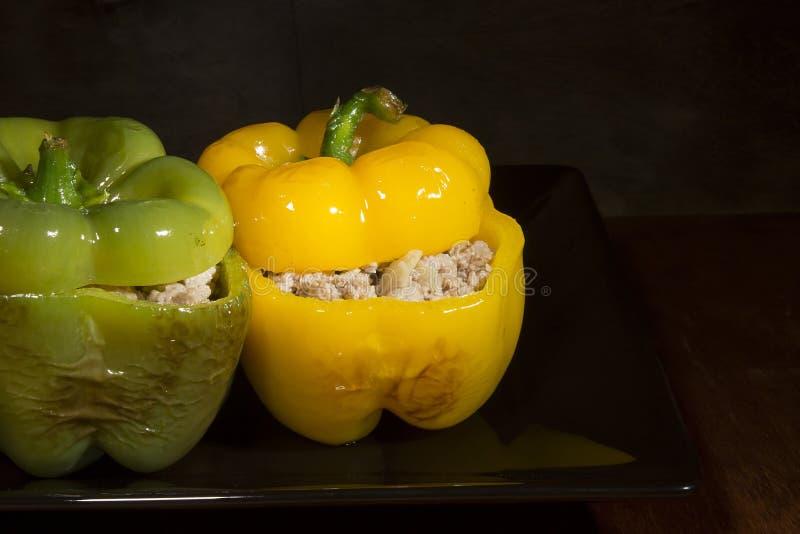 Γεμισμένα γλυκά πιπέρια στοκ εικόνες