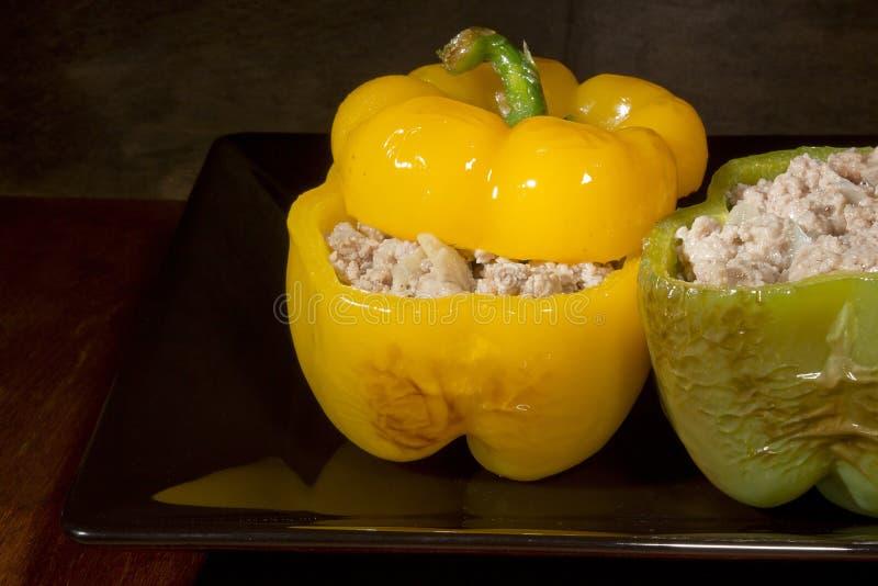 Γεμισμένα γλυκά πιπέρια στοκ εικόνα με δικαίωμα ελεύθερης χρήσης