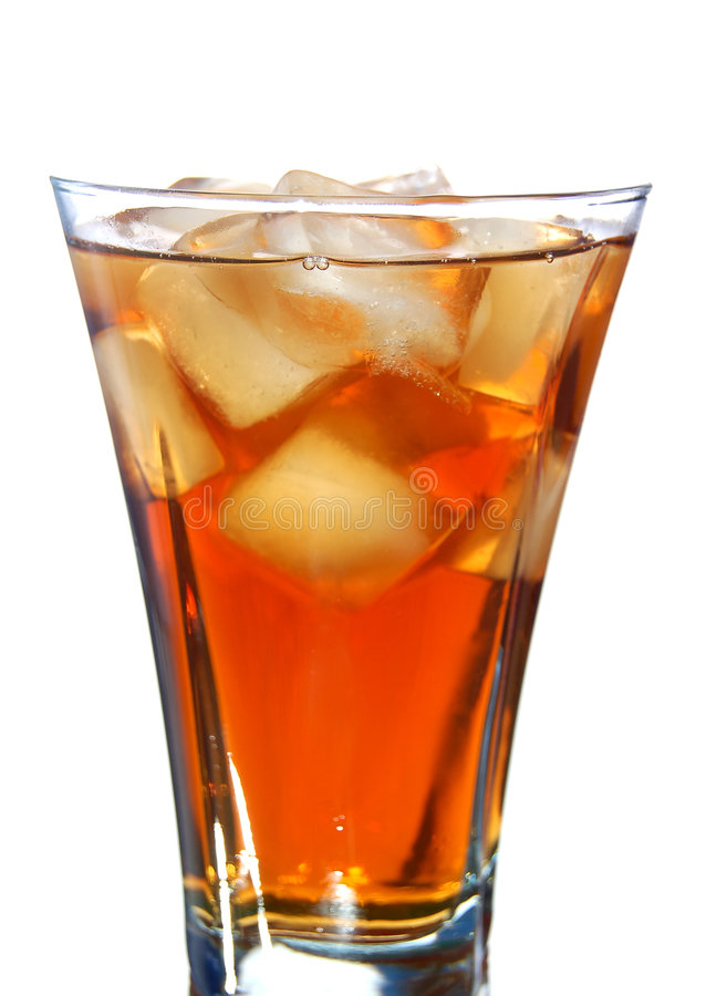 γεμισμένος ποτό πάγος μαλακός στοκ εικόνα με δικαίωμα ελεύθερης χρήσης