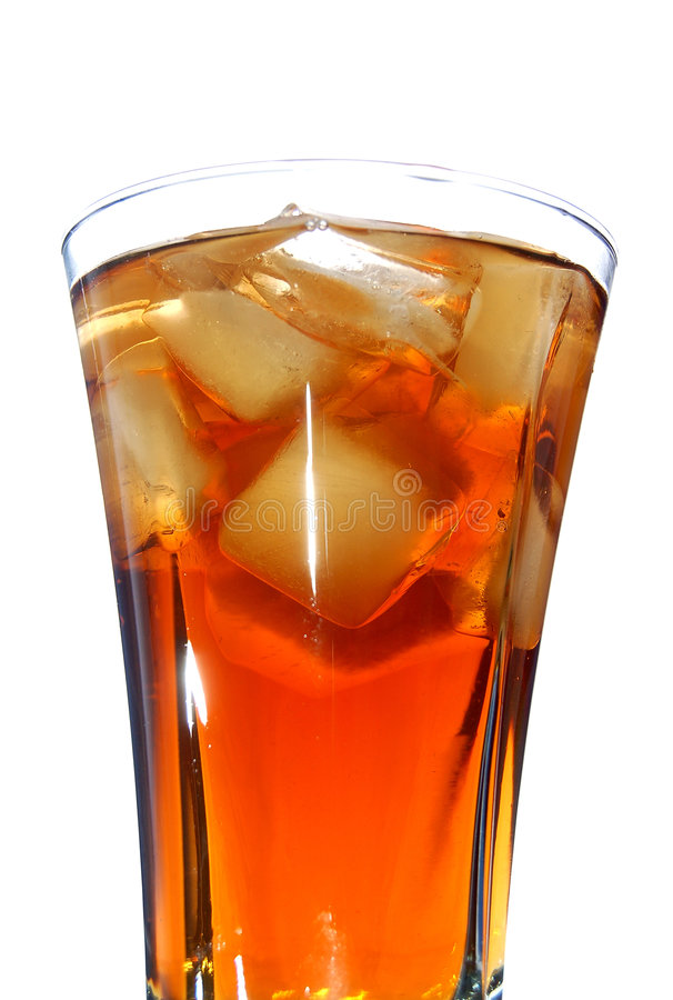 γεμισμένος ποτό πάγος μαλακός στοκ φωτογραφίες