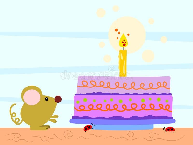 γενέθλιά μου διανυσματική απεικόνιση