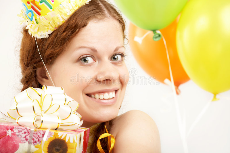 γενέθλια ευτυχή στοκ φωτογραφία με δικαίωμα ελεύθερης χρήσης