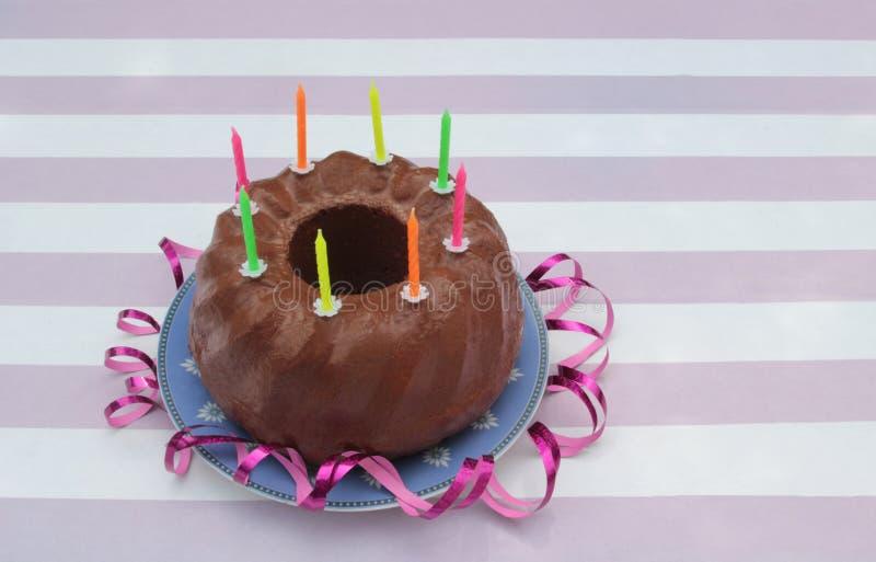 Γενέθλια των ευτυχών παιδιών, ευχετήρια κάρτα στοκ φωτογραφίες