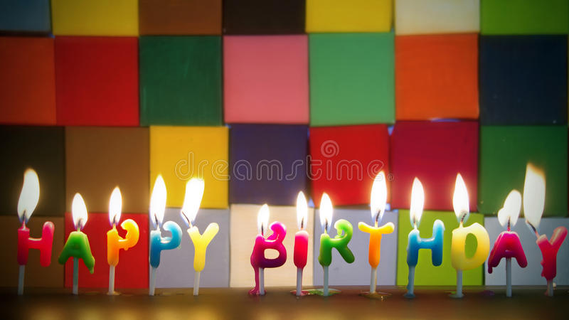 γενέθλια ευτυχή στοκ εικόνες με δικαίωμα ελεύθερης χρήσης