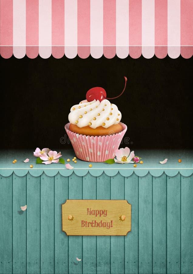 Γενέθλια καρτών απεικόνιση αποθεμάτων