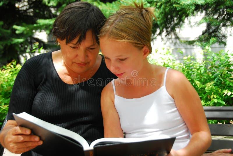 γενεές βιβλίων στοκ φωτογραφίες