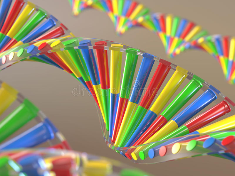 Γενετική εφαρμοσμένη μηχανική DNA απεικόνιση αποθεμάτων