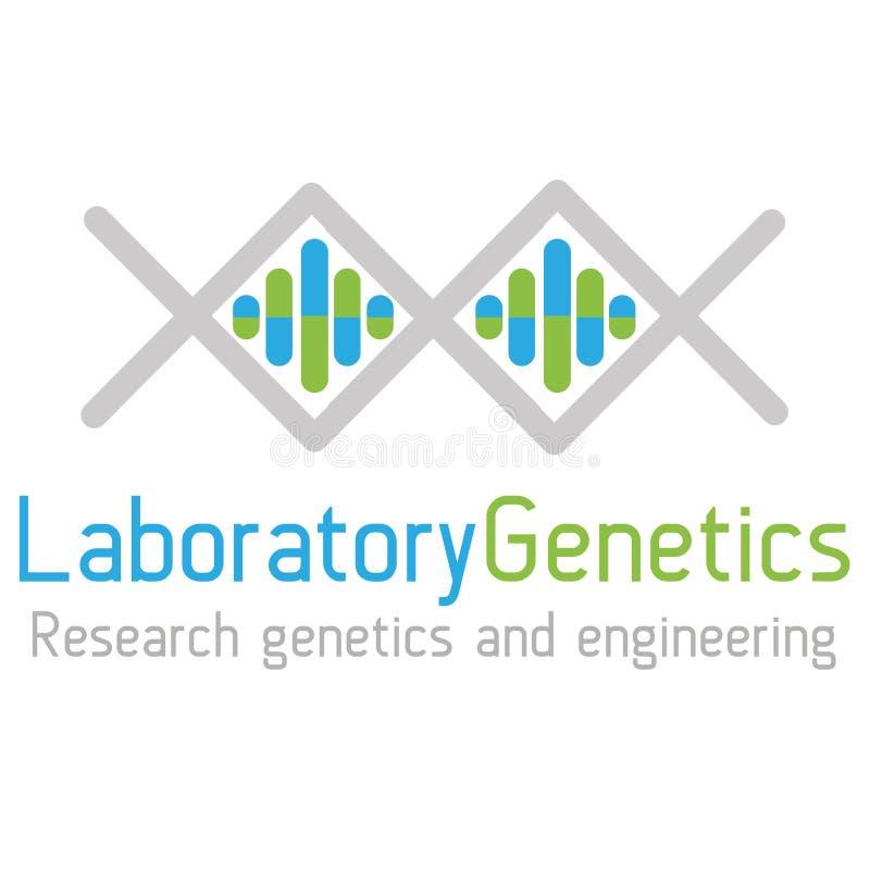 Γενετική λογότυπων στοκ φωτογραφία με δικαίωμα ελεύθερης χρήσης