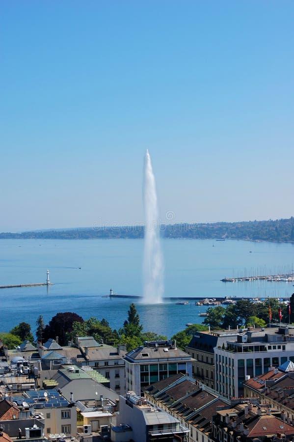 Γενεύη Ελβετία στοκ φωτογραφία