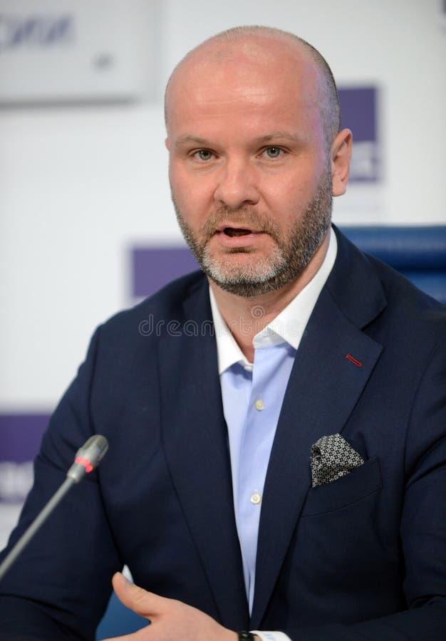 Γενικός Διευθυντής της ένωσης των αξιωματούχων επιβολής του Νόμου και των ειδικών υπηρεσιών της Ρωσικής Ομοσπονδίας Eduard Fedoso στοκ εικόνες