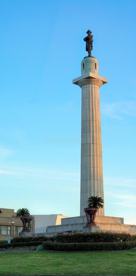 Γενικό άγαλμα του Lee στοκ φωτογραφία