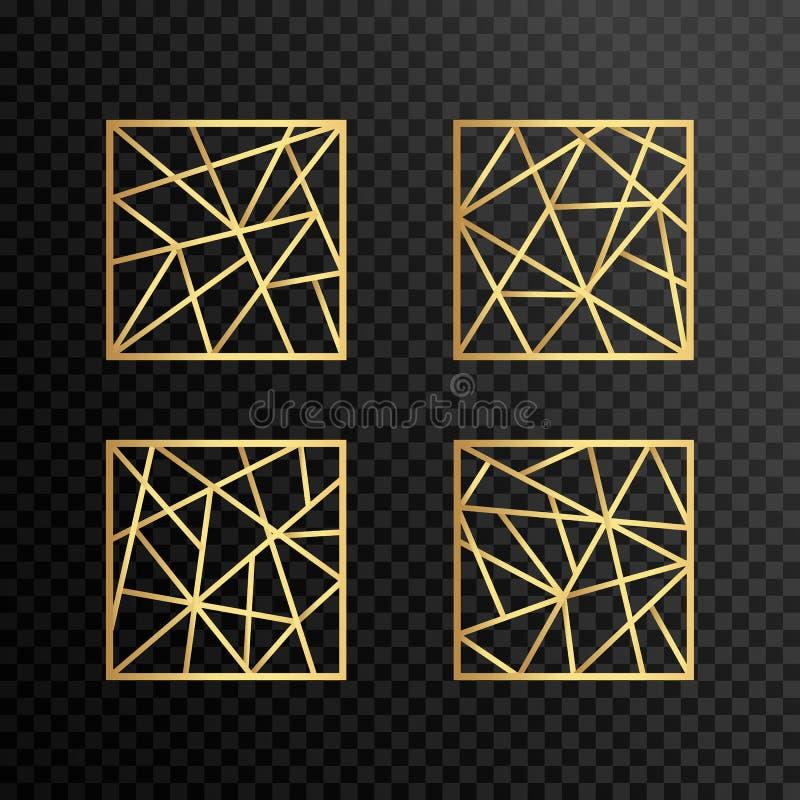 Γενικό διανυσματικό λογότυπο, για την επιχείρησή σας Τετραγωνικό λογότυπο ελεύθερη απεικόνιση δικαιώματος