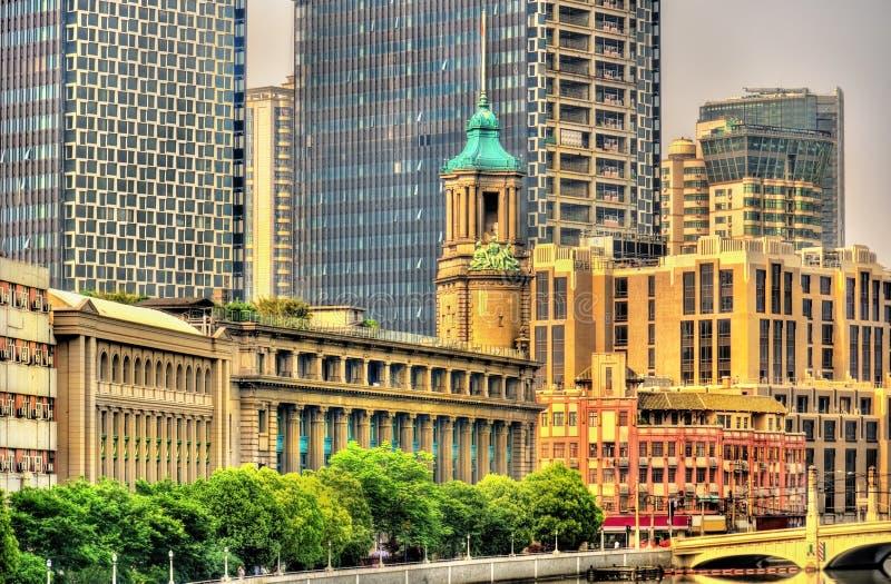 Γενικό κτήριο ταχυδρομείου στη Σαγκάη στοκ εικόνες με δικαίωμα ελεύθερης χρήσης