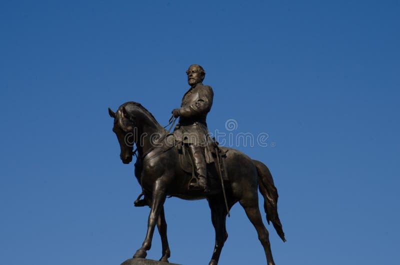 γενικό μνημείο Ρίτσμοντ Robert Βιρτζίνια καταφυγίων λεωφόρων ε καταφύγια στοκ εικόνα