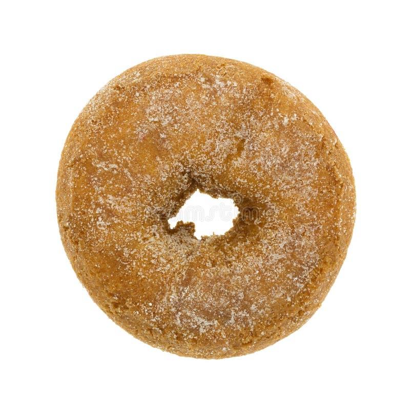 Γενικό σαφές doughnut κέικ με τους κόκκους ζάχαρης στοκ εικόνες με δικαίωμα ελεύθερης χρήσης