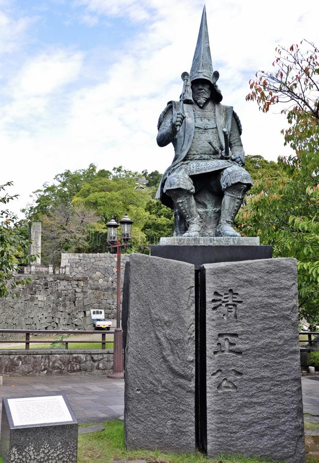 γενικό kumamoto της Ιαπωνίας κάστ&r στοκ φωτογραφία με δικαίωμα ελεύθερης χρήσης