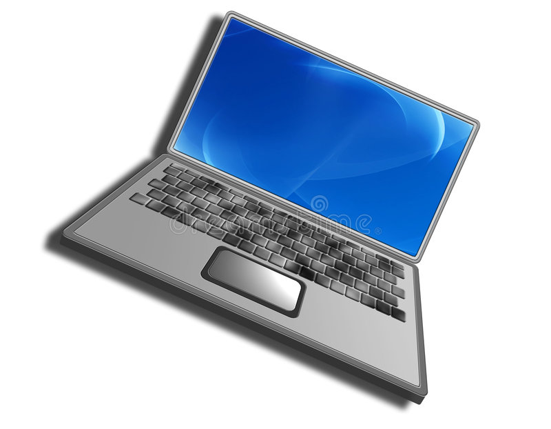 Download γενικό lap-top στοκ εικόνα. εικόνα από λειτουργία, οθόνη - 59253