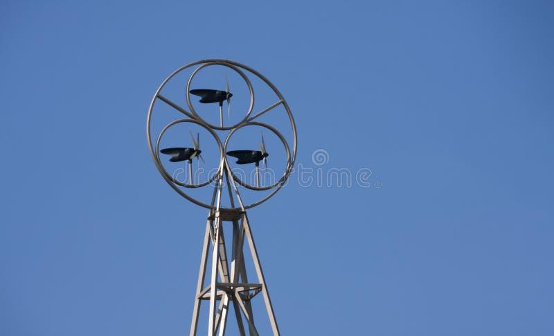 Γεννήτρια ηλεκτρικής ενέργειας αέρα στοκ φωτογραφίες με δικαίωμα ελεύθερης χρήσης