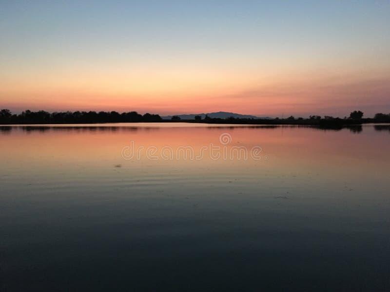 Γενναιόδωρη λίμνη στοκ εικόνες