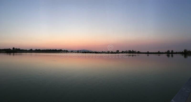 Γενναιόδωρη λίμνη στοκ εικόνα