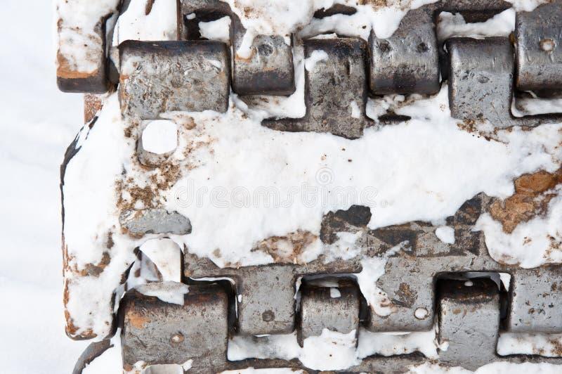 Γερανός αντιολισθητικών αλυσίδων στοκ φωτογραφία με δικαίωμα ελεύθερης χρήσης