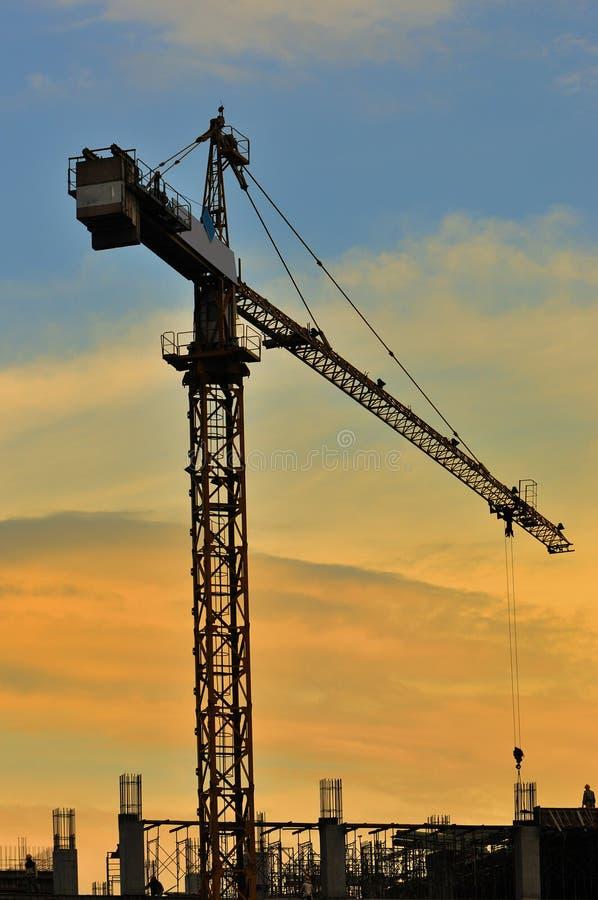 γερανός ΙΙΙ πύργος σειράς στοκ εικόνα
