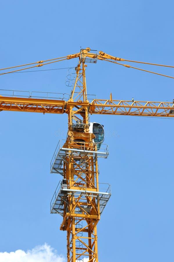 Γερανός πύργων κατασκευής στοκ φωτογραφίες