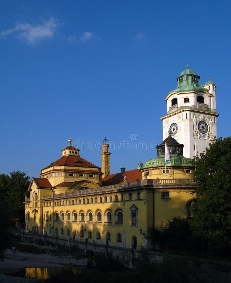Γερμανία Μόναχο volksbad στοκ εικόνες