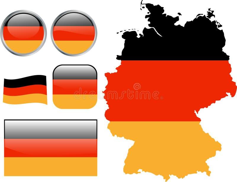 Γερμανία διανυσματική απεικόνιση