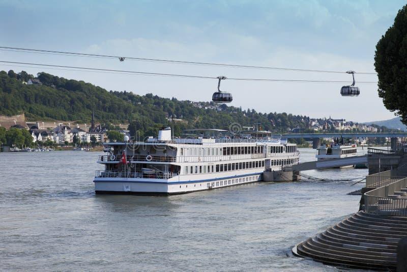 Γερμανία, North Rhine-Westphalia, Koblenz στοκ εικόνα με δικαίωμα ελεύθερης χρήσης