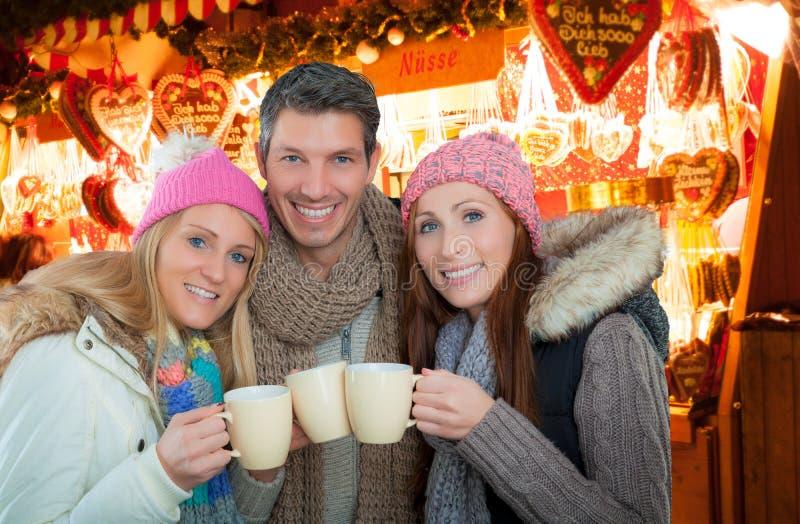 Γερμανική αγορά Χριστουγέννων στοκ εικόνες