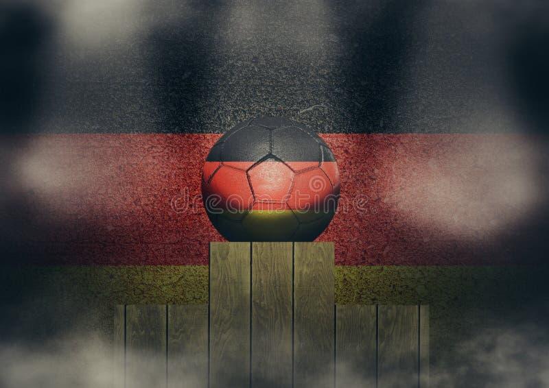 Γερμανική εξέδρα στοκ φωτογραφία με δικαίωμα ελεύθερης χρήσης