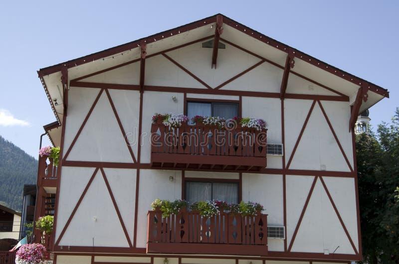 Γερμανική πόλη Leavenworth στοκ εικόνες