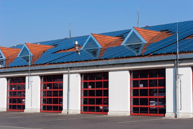 Γερμανικοί πυροσβέστες - πυροσβεστικός σταθμός στη βηρυττό Βαυαρία στοκ φωτογραφία με δικαίωμα ελεύθερης χρήσης
