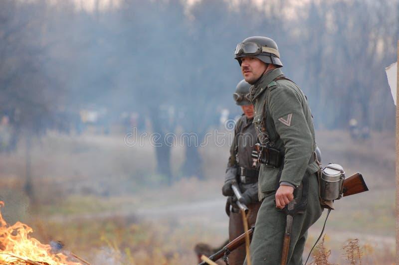 Download γερμανικοί στρατιώτες ww2 στοκ εικόνα. εικόνα από δάσος - 17059767