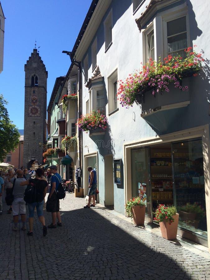 Γερμανικός-ιταλικά σπίτια στοκ φωτογραφία με δικαίωμα ελεύθερης χρήσης