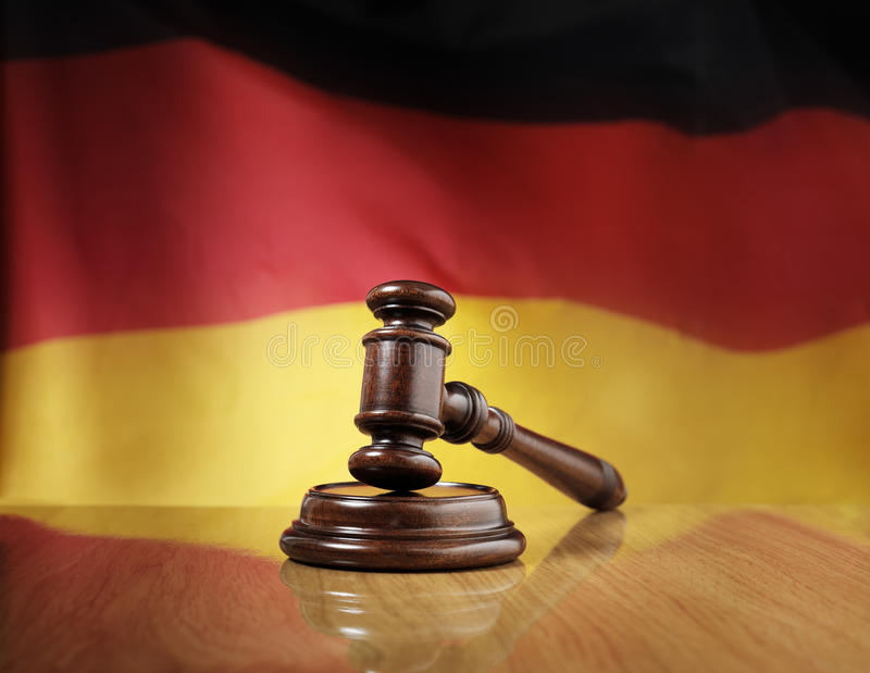γερμανικός νόμος στοκ φωτογραφίες