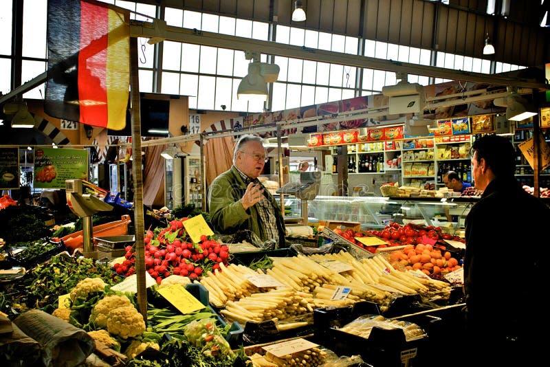 γερμανικό λαχανικό αγορά&sig στοκ φωτογραφία με δικαίωμα ελεύθερης χρήσης