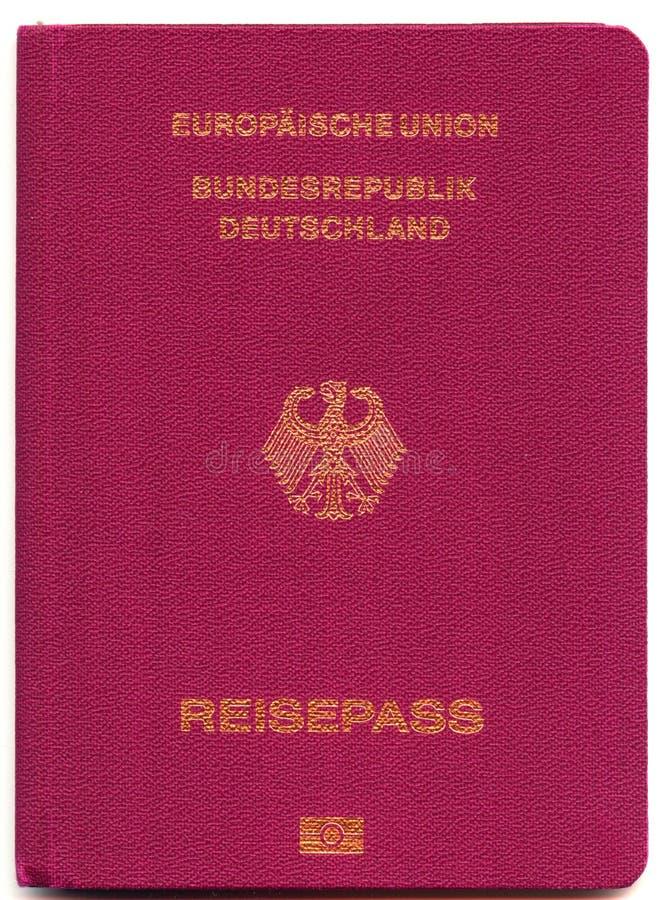 γερμανικό διαβατήριο στοκ φωτογραφία