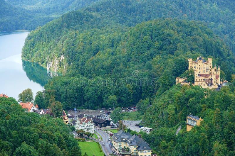 Γερμανικό κάστρο στοκ εικόνα