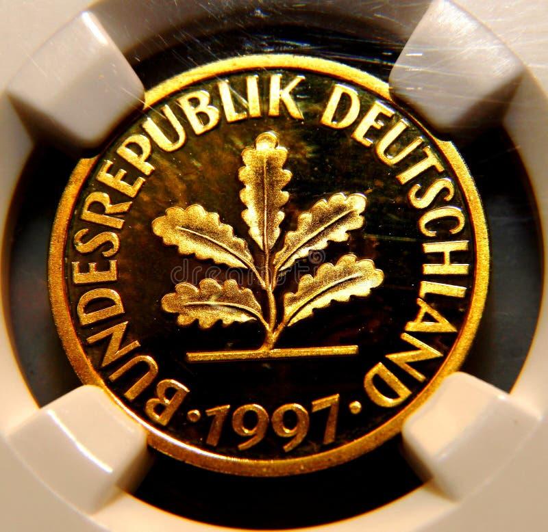 Γερμανικό νόμισμα στοκ εικόνα με δικαίωμα ελεύθερης χρήσης