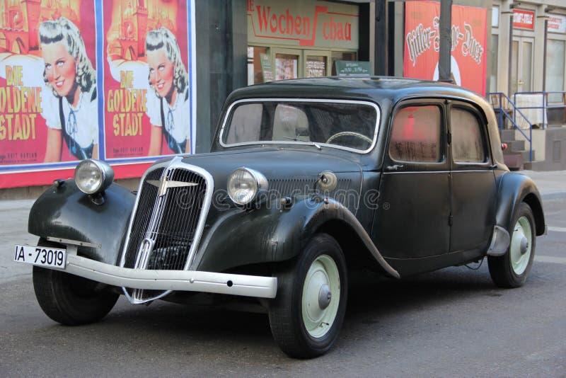 Γερμανικό παλαιό αυτοκίνητο παγκόσμιου πολέμου στοκ φωτογραφίες