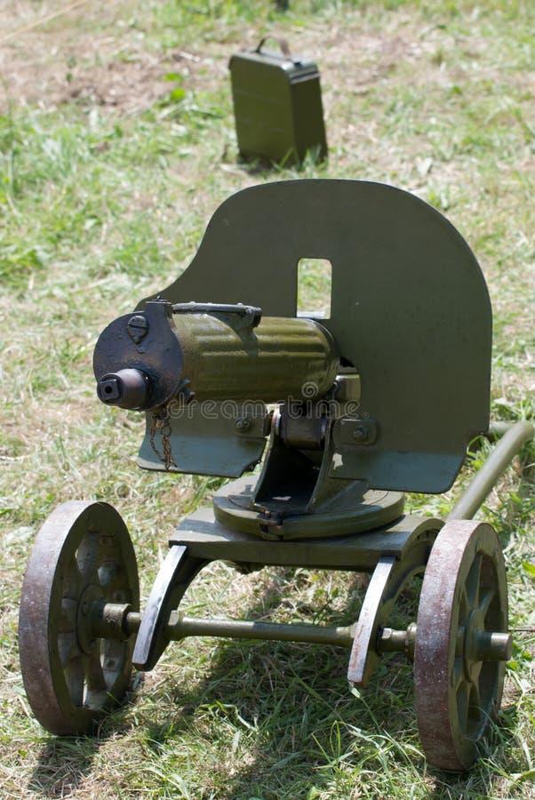 Γερμανικό πολυβόλο του Δεύτερου Παγκόσμιου Πολέμου στοκ εικόνα με δικαίωμα ελεύθερης χρήσης