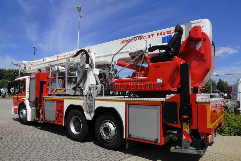 Γερμανικό πυροσβεστικό όχημα στοκ εικόνα με δικαίωμα ελεύθερης χρήσης