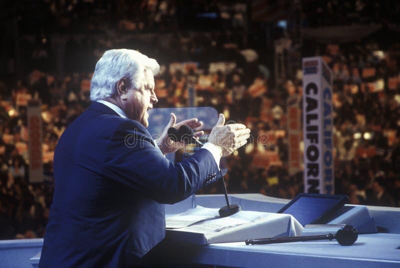 Γερουσιαστής Τεντ Κένεντι στοκ εικόνες με δικαίωμα ελεύθερης χρήσης