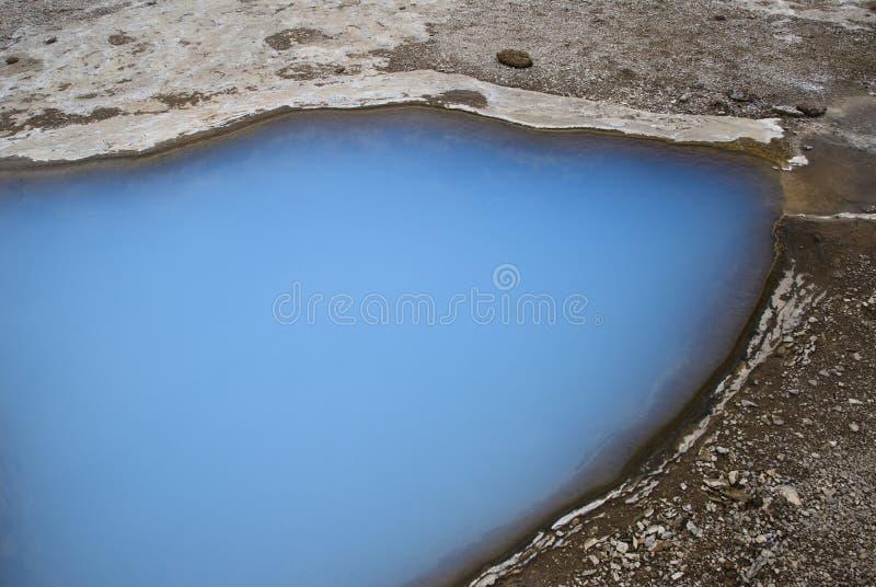 γεωθερμική λίμνη φυσική στοκ εικόνες