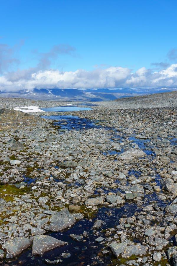 Γεωθερμική περιοχή Jotunheimen στοκ φωτογραφία με δικαίωμα ελεύθερης χρήσης