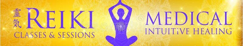 γεωμετρία ιερή η ιαπωνική ζωή ki ενεργειακής δύναμης αποτέλεσε το σύμβολο δύο reiki rei μέσων το καθολικό που λέξεις λέξης στοκ εικόνα