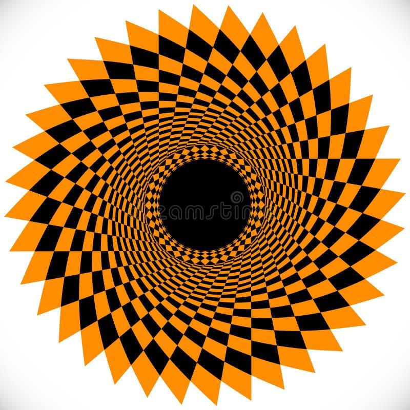 Γεωμετρικά στοιχεία κύκλων Αφηρημένη κυκλική μορφή απεικόνιση αποθεμάτων