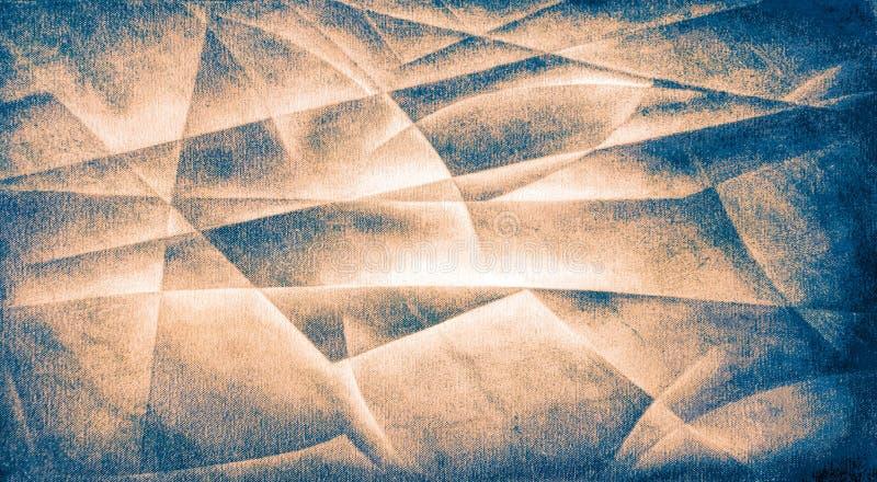 Γεωμετρικές μορφές καφετιά 2 διανυσματική απεικόνιση